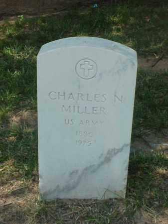 MILLER (VETERAN WWI), CHARLES N - Pulaski County, Arkansas | CHARLES N MILLER (VETERAN WWI) - Arkansas Gravestone Photos