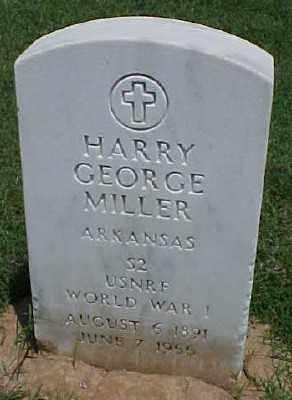 MILLER (VETERAN WWI), HARRY GEORGE - Pulaski County, Arkansas | HARRY GEORGE MILLER (VETERAN WWI) - Arkansas Gravestone Photos