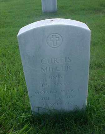 MILLER (VETERAN WWII), CURTIS - Pulaski County, Arkansas | CURTIS MILLER (VETERAN WWII) - Arkansas Gravestone Photos