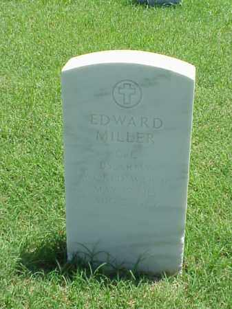 MILLER (VETERAN WWII), EDWARD - Pulaski County, Arkansas | EDWARD MILLER (VETERAN WWII) - Arkansas Gravestone Photos