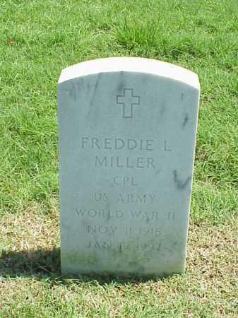MILLER (VETERAN WWII), FREDDIE L - Pulaski County, Arkansas | FREDDIE L MILLER (VETERAN WWII) - Arkansas Gravestone Photos