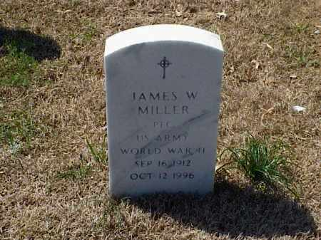 MILLER (VETERAN WWII), JAMES W - Pulaski County, Arkansas | JAMES W MILLER (VETERAN WWII) - Arkansas Gravestone Photos