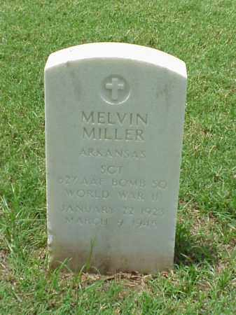 MILLER (VETERAN WWII), MELVIN - Pulaski County, Arkansas | MELVIN MILLER (VETERAN WWII) - Arkansas Gravestone Photos