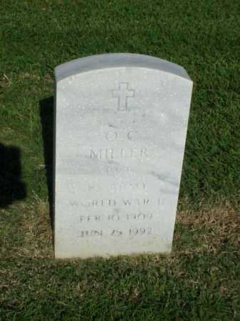 MILLER (VETERAN WWII), O C - Pulaski County, Arkansas | O C MILLER (VETERAN WWII) - Arkansas Gravestone Photos