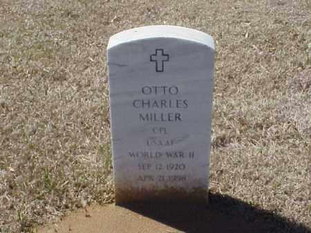 MILLER (VETERAN WWII), OTTO CHARLES - Pulaski County, Arkansas | OTTO CHARLES MILLER (VETERAN WWII) - Arkansas Gravestone Photos