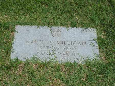 MILLIGAN (VETERAN WWII), RALPH V - Pulaski County, Arkansas | RALPH V MILLIGAN (VETERAN WWII) - Arkansas Gravestone Photos