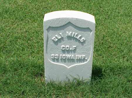 MILLS (VETERAN UNION), ELI - Pulaski County, Arkansas | ELI MILLS (VETERAN UNION) - Arkansas Gravestone Photos