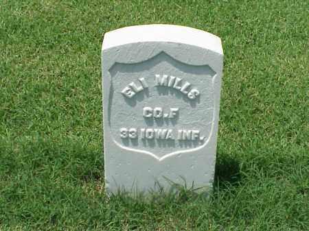 MILLS (VETERAN UNION), ELI - Pulaski County, Arkansas   ELI MILLS (VETERAN UNION) - Arkansas Gravestone Photos