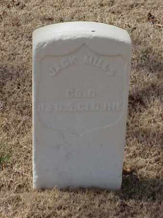 MILLS (VETERAN UNION), JACK - Pulaski County, Arkansas | JACK MILLS (VETERAN UNION) - Arkansas Gravestone Photos