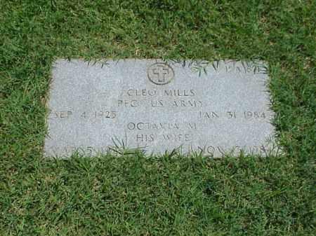 MILLS (VETERAN WWII), CLEO - Pulaski County, Arkansas | CLEO MILLS (VETERAN WWII) - Arkansas Gravestone Photos
