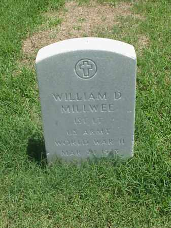 MILLWEE (VETERAN WWII), WILLIAM D - Pulaski County, Arkansas | WILLIAM D MILLWEE (VETERAN WWII) - Arkansas Gravestone Photos