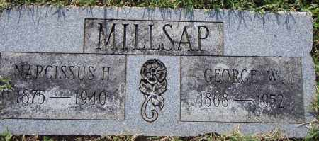 MILSAP, GEORGE W - Pulaski County, Arkansas | GEORGE W MILSAP - Arkansas Gravestone Photos