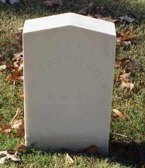 MIMMS (VETERAN CSA), HENRY - Pulaski County, Arkansas | HENRY MIMMS (VETERAN CSA) - Arkansas Gravestone Photos