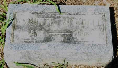 MITCHELL, ANNETTE - Pulaski County, Arkansas | ANNETTE MITCHELL - Arkansas Gravestone Photos