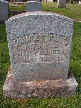 ROOTS MITCHELL, FRANCES - Pulaski County, Arkansas | FRANCES ROOTS MITCHELL - Arkansas Gravestone Photos