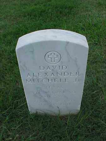 MITCHELL, JR (VETERAN WWI), DAVID ALEXANDER - Pulaski County, Arkansas | DAVID ALEXANDER MITCHELL, JR (VETERAN WWI) - Arkansas Gravestone Photos