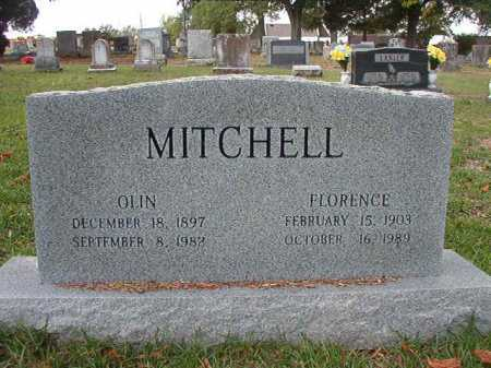 MITCHELL, FLORENCE - Pulaski County, Arkansas | FLORENCE MITCHELL - Arkansas Gravestone Photos