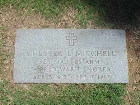 MITCHELL (VETERAN 2 WARS), CHESTER L - Pulaski County, Arkansas | CHESTER L MITCHELL (VETERAN 2 WARS) - Arkansas Gravestone Photos