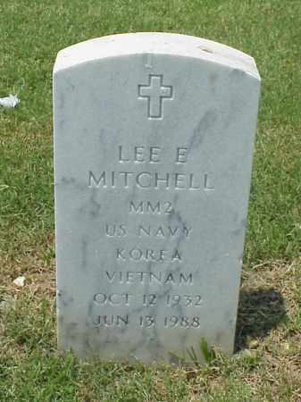 MITCHELL (VETERAN 2 WARS), LEE EDWARD - Pulaski County, Arkansas | LEE EDWARD MITCHELL (VETERAN 2 WARS) - Arkansas Gravestone Photos