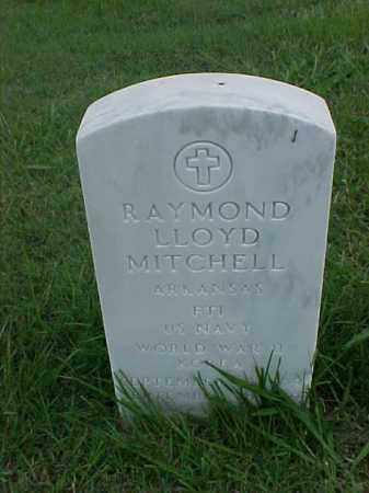 MITCHELL (VETERAN 2 WARS), RAYMOND LLOYD - Pulaski County, Arkansas | RAYMOND LLOYD MITCHELL (VETERAN 2 WARS) - Arkansas Gravestone Photos