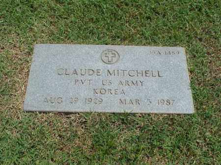 MITCHELL (VETERAN KOR), CLAUDE - Pulaski County, Arkansas | CLAUDE MITCHELL (VETERAN KOR) - Arkansas Gravestone Photos