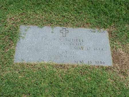 MITCHELL (VETERAN WWII), OTIS - Pulaski County, Arkansas | OTIS MITCHELL (VETERAN WWII) - Arkansas Gravestone Photos