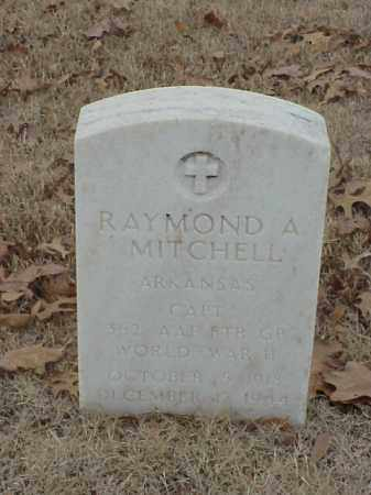 MITCHELL (VETERAN WWII), RAYMOND A - Pulaski County, Arkansas | RAYMOND A MITCHELL (VETERAN WWII) - Arkansas Gravestone Photos