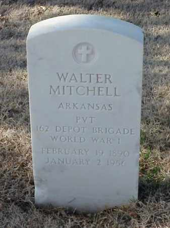 MITCHELL (VETERAN WWI), WALTER - Pulaski County, Arkansas | WALTER MITCHELL (VETERAN WWI) - Arkansas Gravestone Photos