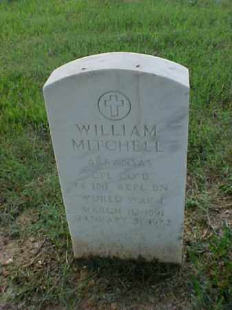 MITCHELL (VETERAN WWI), WILLIAM - Pulaski County, Arkansas | WILLIAM MITCHELL (VETERAN WWI) - Arkansas Gravestone Photos