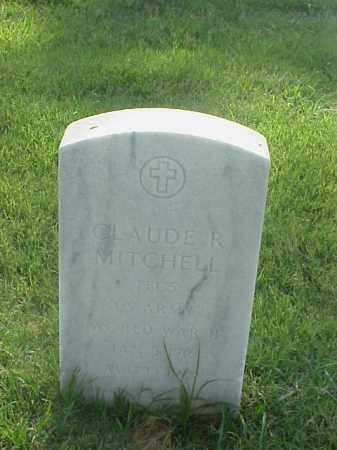 MITCHELL (VETERAN WWII), CLAUDE R - Pulaski County, Arkansas | CLAUDE R MITCHELL (VETERAN WWII) - Arkansas Gravestone Photos