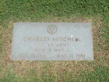 MITCHELL (VETERAN WWII), CHARLES - Pulaski County, Arkansas | CHARLES MITCHELL (VETERAN WWII) - Arkansas Gravestone Photos
