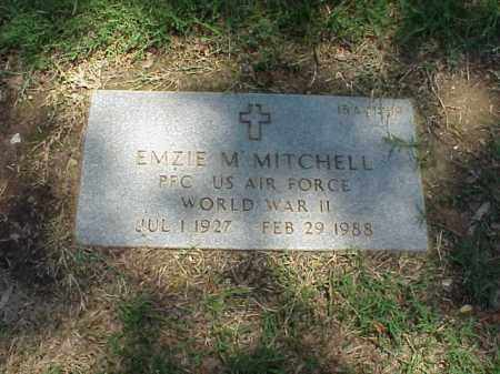 MITCHELL (VETERAN WWII), EMZIE M - Pulaski County, Arkansas | EMZIE M MITCHELL (VETERAN WWII) - Arkansas Gravestone Photos