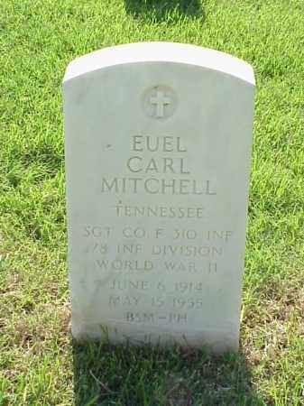 MITCHELL (VETERAN WWII), EUEL CARL - Pulaski County, Arkansas | EUEL CARL MITCHELL (VETERAN WWII) - Arkansas Gravestone Photos