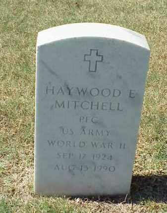 MITCHELL (VETERAN WWII), HAYWOOD E - Pulaski County, Arkansas | HAYWOOD E MITCHELL (VETERAN WWII) - Arkansas Gravestone Photos
