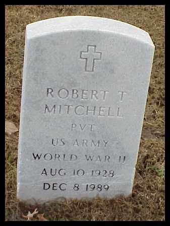 MITCHELL (VETERAN WWII), ROBERT T - Pulaski County, Arkansas | ROBERT T MITCHELL (VETERAN WWII) - Arkansas Gravestone Photos