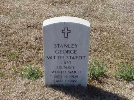 MITTELSTAEDT (VETERAN WWII), STANLEY GEORGE - Pulaski County, Arkansas | STANLEY GEORGE MITTELSTAEDT (VETERAN WWII) - Arkansas Gravestone Photos