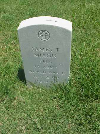 MIXON (VETERAN WWII), JAMES T - Pulaski County, Arkansas | JAMES T MIXON (VETERAN WWII) - Arkansas Gravestone Photos