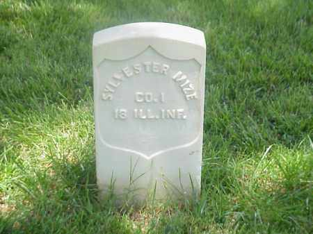 MIZE (VETERAN UNION), SYLVESTER - Pulaski County, Arkansas | SYLVESTER MIZE (VETERAN UNION) - Arkansas Gravestone Photos