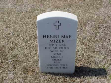 MIZER, HENRI MAE - Pulaski County, Arkansas | HENRI MAE MIZER - Arkansas Gravestone Photos