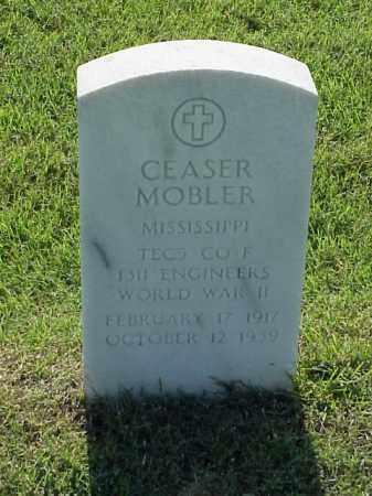 MOBLER (VETERAN WWII), CEASER - Pulaski County, Arkansas | CEASER MOBLER (VETERAN WWII) - Arkansas Gravestone Photos