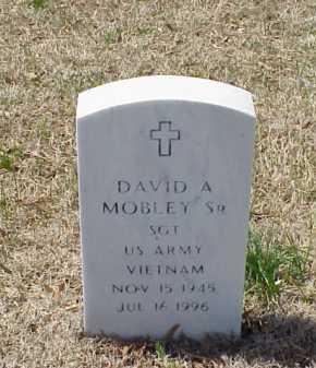 MOBLEY, SR (VETERAN VIET), DAVID A - Pulaski County, Arkansas | DAVID A MOBLEY, SR (VETERAN VIET) - Arkansas Gravestone Photos
