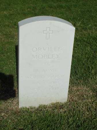 MOBLEY (VETERAN WWII), ORVILLE - Pulaski County, Arkansas | ORVILLE MOBLEY (VETERAN WWII) - Arkansas Gravestone Photos
