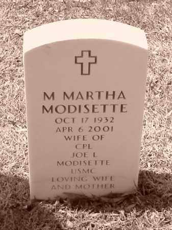 MODISETTA, M MARTHA - Pulaski County, Arkansas | M MARTHA MODISETTA - Arkansas Gravestone Photos