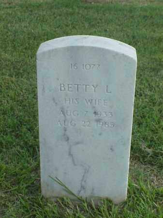 MOFFITT, BETTY L - Pulaski County, Arkansas | BETTY L MOFFITT - Arkansas Gravestone Photos