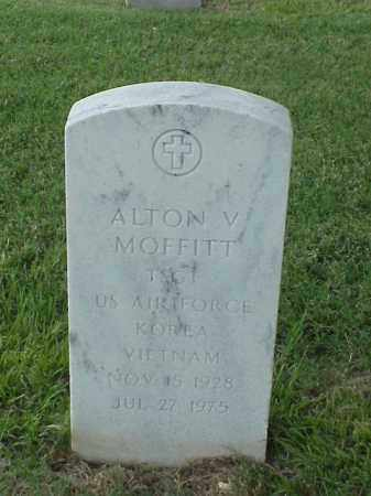 MOFFITT (VETERAN 2 WARS), ALTON V - Pulaski County, Arkansas | ALTON V MOFFITT (VETERAN 2 WARS) - Arkansas Gravestone Photos