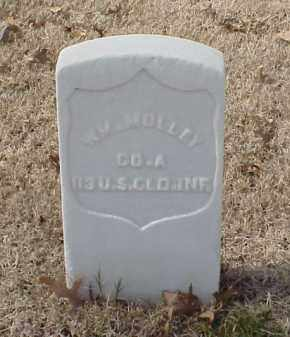 MOLLEY (VETERAN UNION), WILLIAM - Pulaski County, Arkansas | WILLIAM MOLLEY (VETERAN UNION) - Arkansas Gravestone Photos