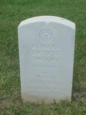 MOON (VETERAN WWII), ROBERT ERNEST - Pulaski County, Arkansas | ROBERT ERNEST MOON (VETERAN WWII) - Arkansas Gravestone Photos