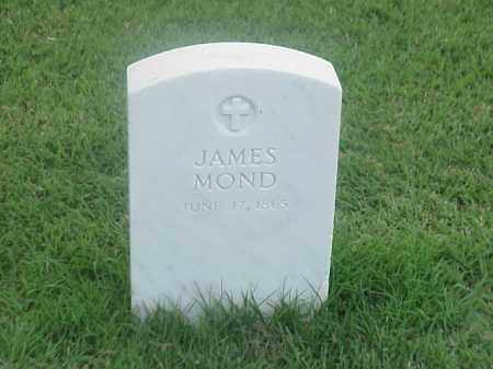 MOND (VETERAN UNION), JAMES - Pulaski County, Arkansas | JAMES MOND (VETERAN UNION) - Arkansas Gravestone Photos
