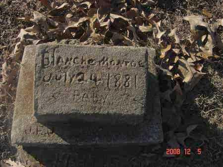 MONROE, BLANCHE - Pulaski County, Arkansas | BLANCHE MONROE - Arkansas Gravestone Photos