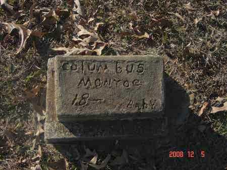MONROE, COLUMBUS - Pulaski County, Arkansas | COLUMBUS MONROE - Arkansas Gravestone Photos